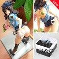 Бесплатная Доставка 22 СМ Японское Аниме Native Сексуальное Полиция Minifigure Ню Смолы Сексуальная Девушка ПВХ Фигурки Игрушка в Подарок