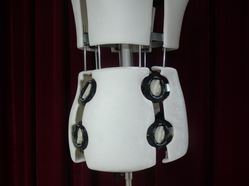 EMT-YKT005W White adjust tailor mannequin_22