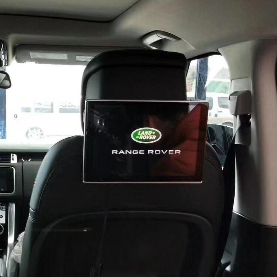 Заднего сиденья Развлечения Системы Android подголовник для Land Rover Discovery Спорт Evoque 11.8 дюймов DVD видеоплеерам