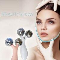 Electric 3D massage face lift machine beauty face thin chin jaw leg vibration skin tightening facial wrinkle massage apparatus