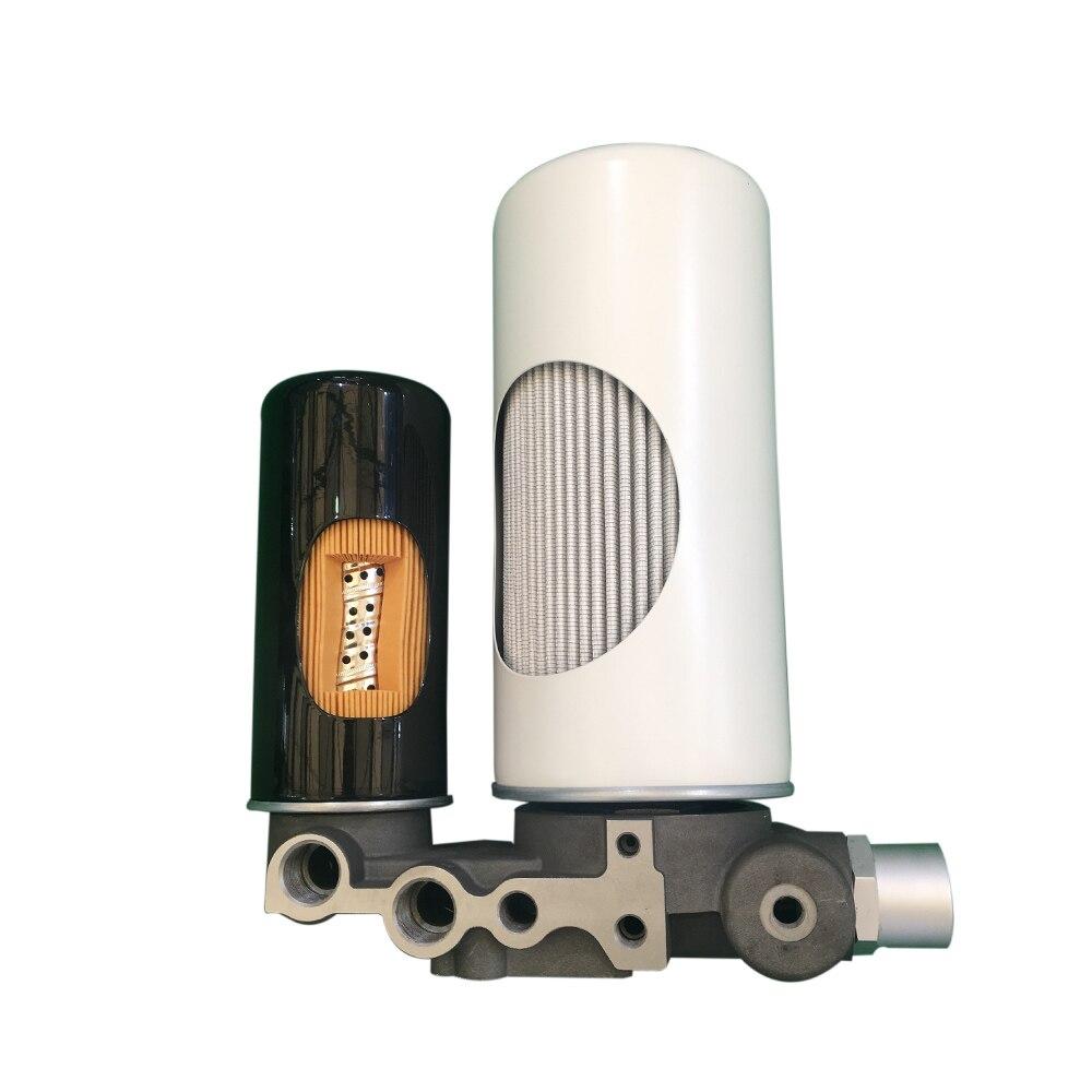 Filtre à huile de remplacement 1625752500 pour pièces de compresseur d'air Atlas Copco 2903752500 - 4
