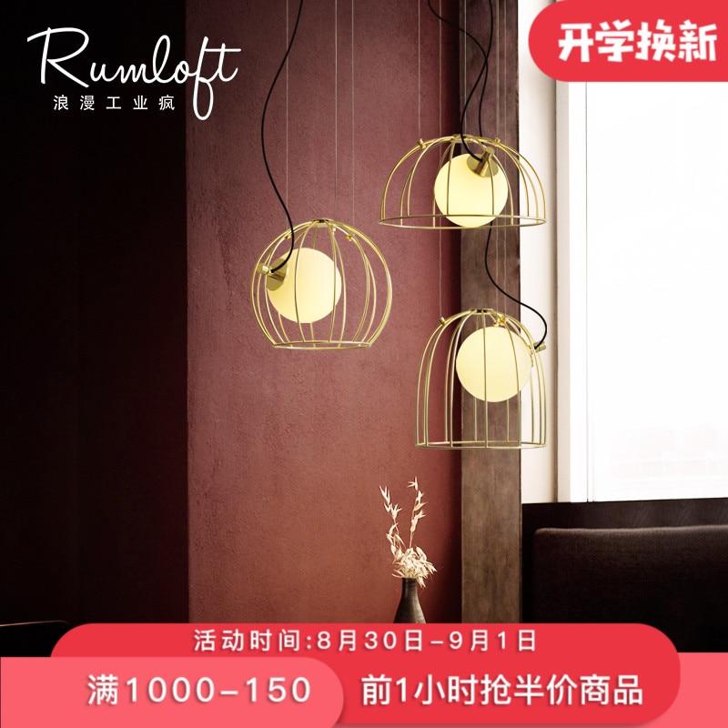 American Creative Glass Ball Pendant Lights Iron Hoop Hang Lamp for Bedroom Cafe Restaurant Bar Indoor Lighting Fixtures Decor|Pendant Lights| |  - title=