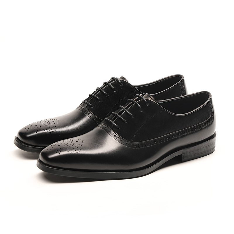 New mens leather shoes high-grade first layer leather British pointed leather young business mens shoes manufacturers retail New mens leather shoes high-grade first layer leather British pointed leather young business mens shoes manufacturers retail