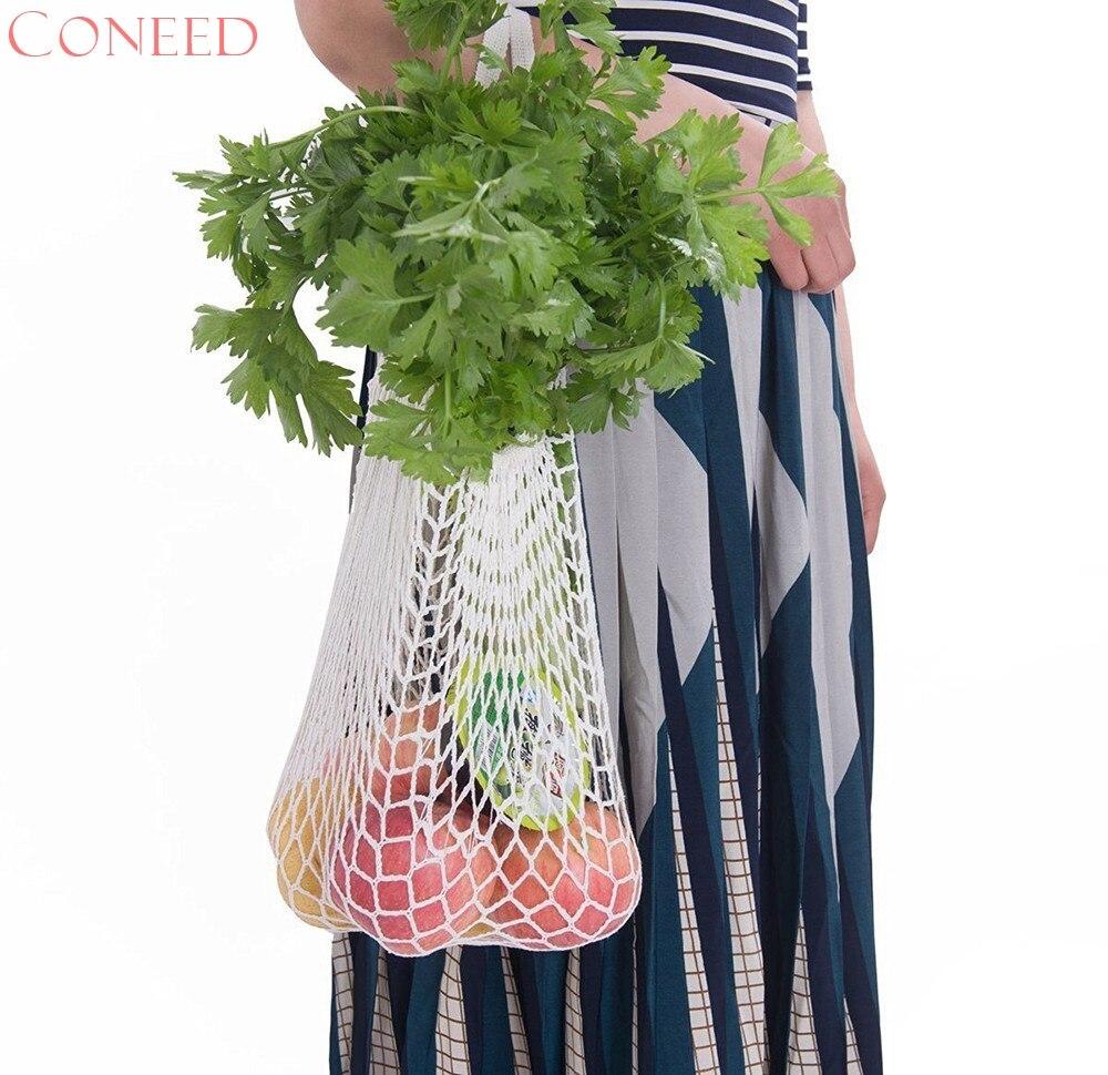 Mesh Net Turtle Bag String Shopping Bag Reusable Fruit Storage Handbag Totes New Juy12
