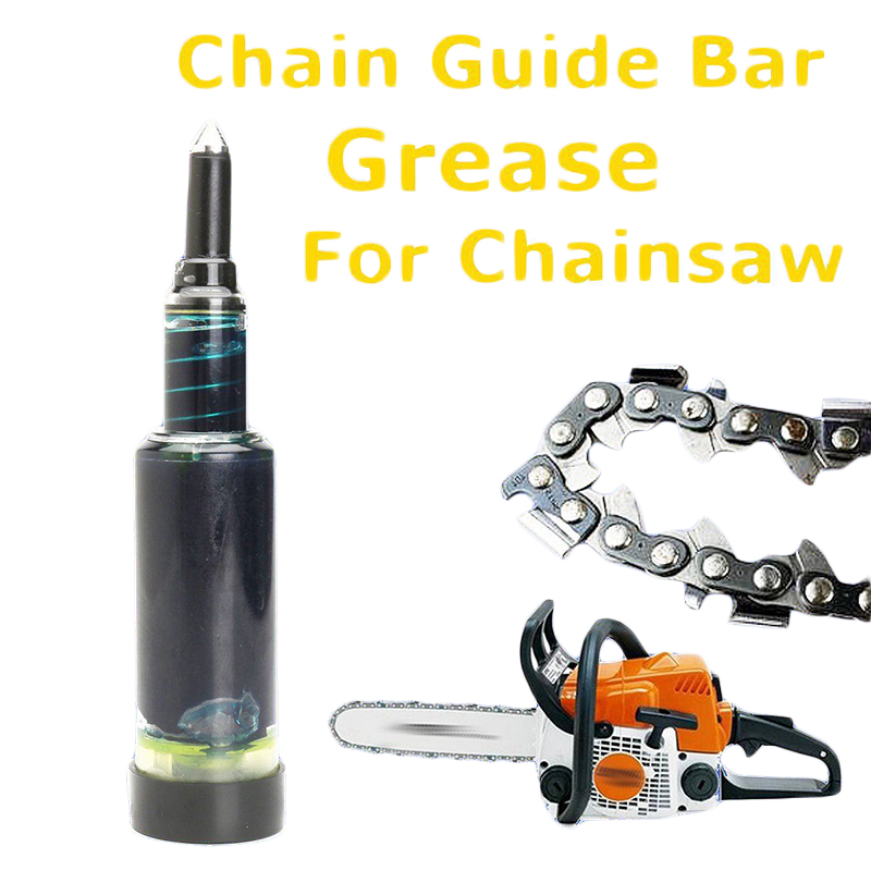 Chain Guide Bar Grease for Chainsaw Brushcutter Sprocket Nose Loaded