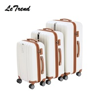 Letrend бизнес моды прокатки Чемодан Spinner чемодана колеса пароль тележки 20 дюймов Cabin Travel Bag багажник 24 дюймов 28 дюймов