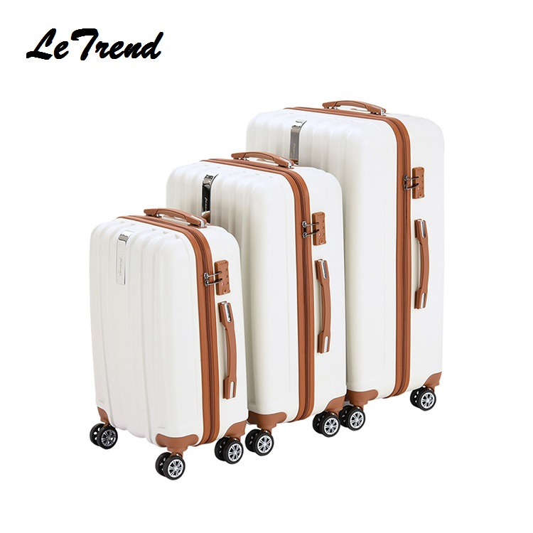 Letrend business Fashion Rolling Luggage Spinner Suitcases Wheels password Trolley 20 inch Cabin Travel Bag Trunk 24inch 28inch fashion sexy 28inch 100