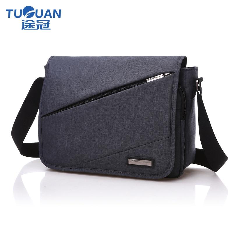 купить TUGUAN Men Business Crossbody Bag women messenger bags School Bag Waterproof Fashion Male Casual Crossbody travel leisure bags онлайн