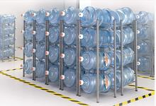 Минеральная вода баррелей. получать организовать. НДС чистой воды полка.