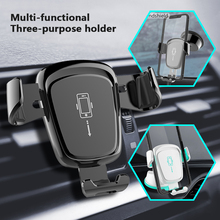 Car Phone Holder For In No Magnetic Air Vent Mobile Stand IPhone Smartphone Windshield Mount Gravity Sucker
