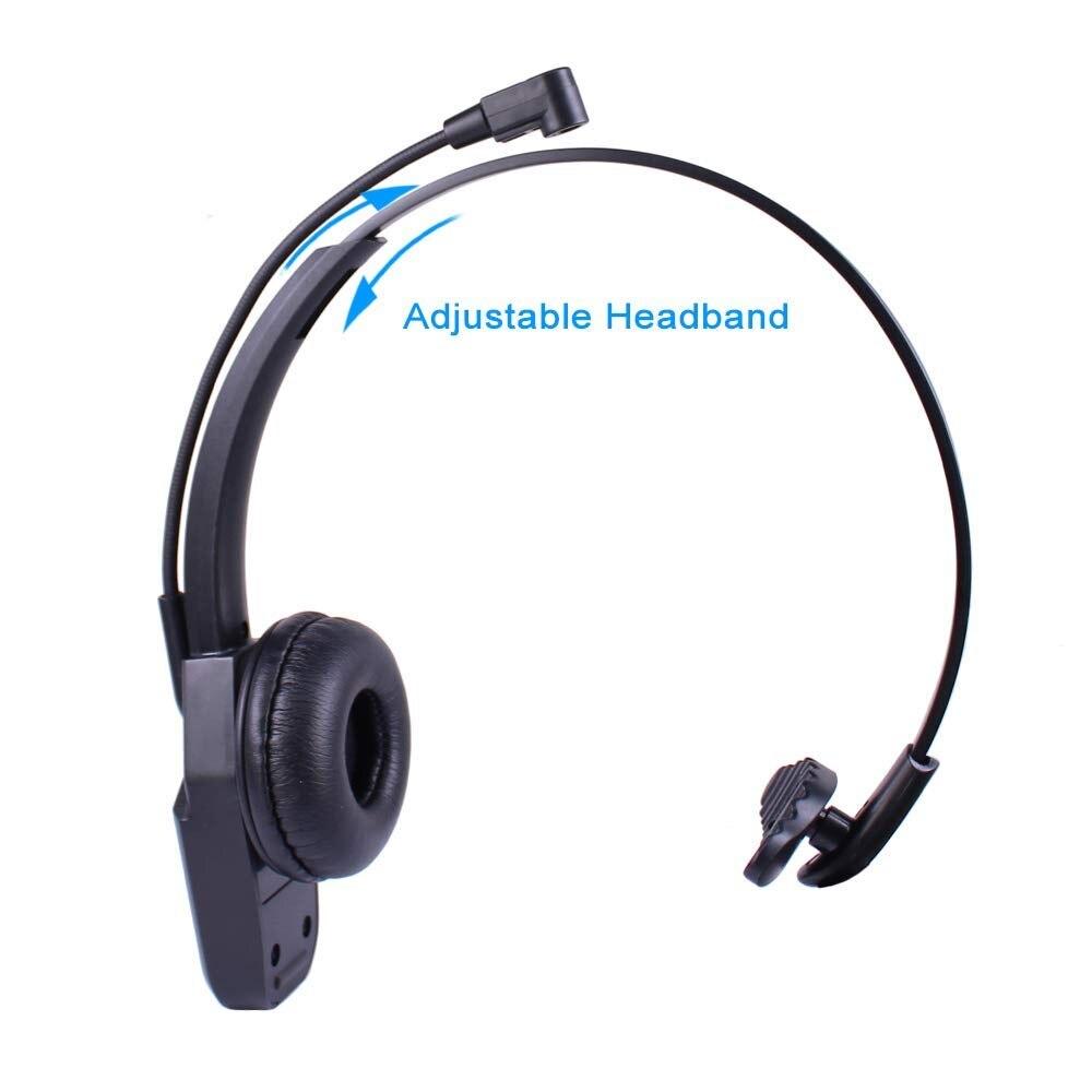 c4c1741f771 Wantek Arama JBT800 Bluetooth Headphones with Microphone Office Wireless  Headset Over Head Earpiece for Cell Phone Call Center-in Bluetooth Earphones  ...