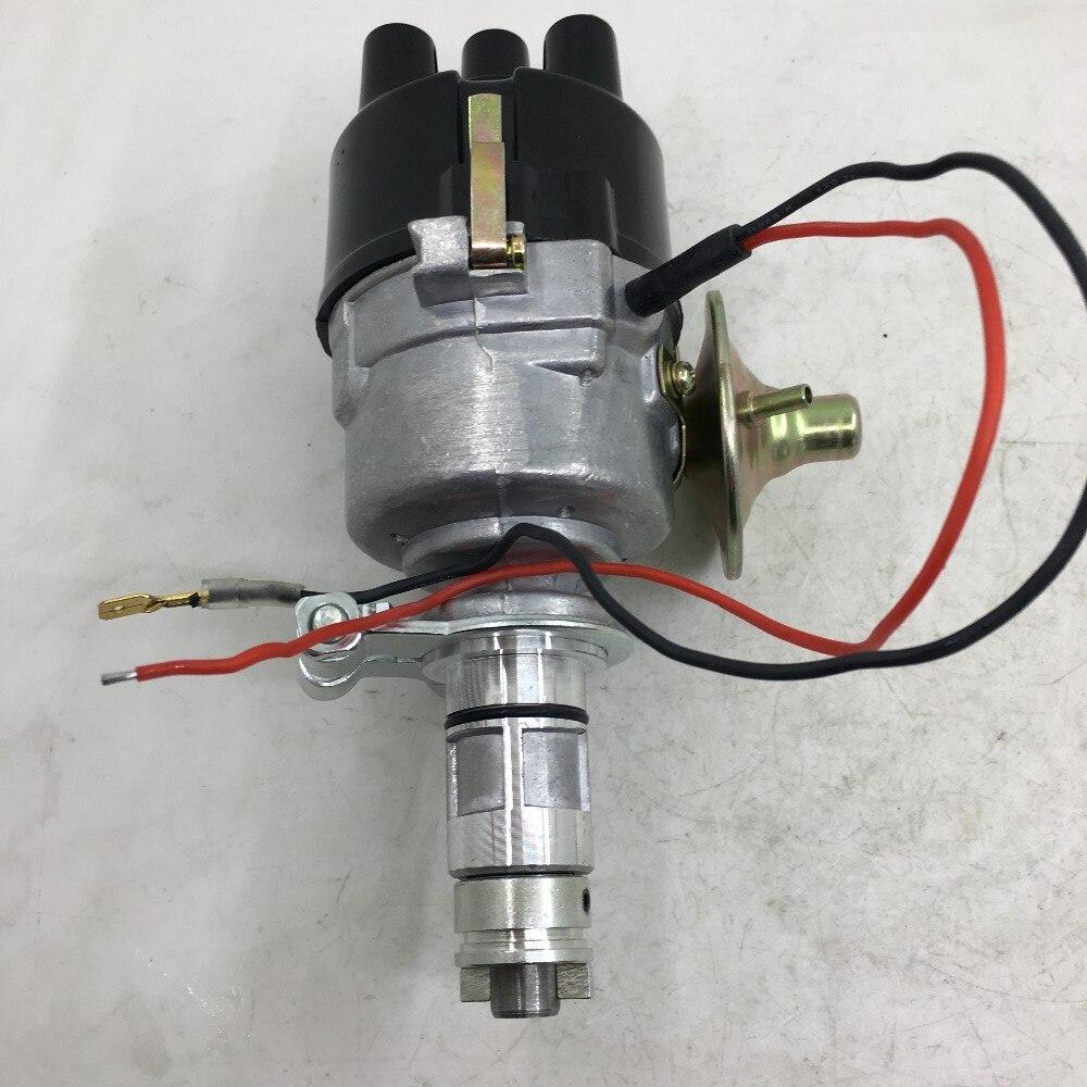 SherryBerg Distributeur Électronique D'ALLUMAGE 45D4 ÉLECTRONIQUE distributeur fit pour Mini MGB Austin 4-cylindres LUCAS