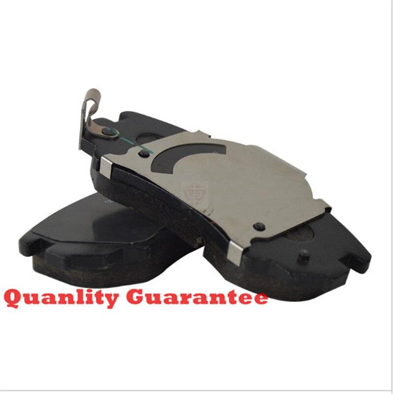 Livraison gratuite (4 pièce/ensemble) plaquettes de frein avant/arrière plaquettes de frein à disque pour CHANGAN CS35 SUV Auto voiture moteur oem S101062-0100