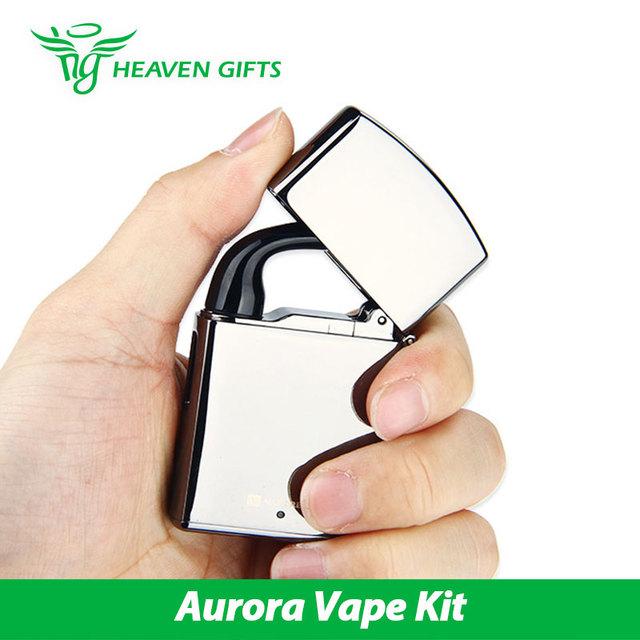 Original Vaporesso Aurora Vape Starter Kit 650 mAh Batería Todo en una Simple/Delicado Cigarrillo electrónico Kit Tubo De Aurora Kit