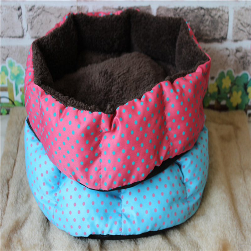 Pet Dog Cat Bed Puppy Cushion House Pet Soft Warm Kennel Dog Mat Blanket 2 Color