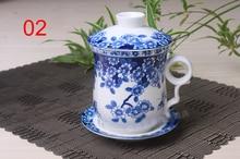 Keramik tee tassen, tee-set kann der tank filter, Chinesischen stil Keramik Tasse und untertasse China Teetassen Kaffee tasse
