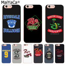 MaiYaCa American TV Riverdale Painted LOGO Detailed Popular Phone case for iphone 11 pro 8 7 66S Plus X 10 5S SE XS XR XS MAX(China)