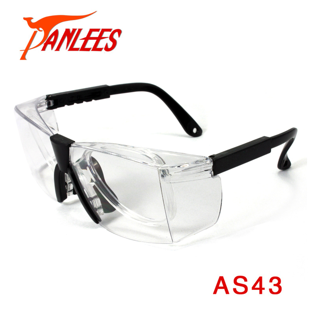 fc3f4b97701 Panlees Indoor Application Prescription Safety Glasses UV Protection Glasses  Adjustable Safety Eyewear Frame with RX insert