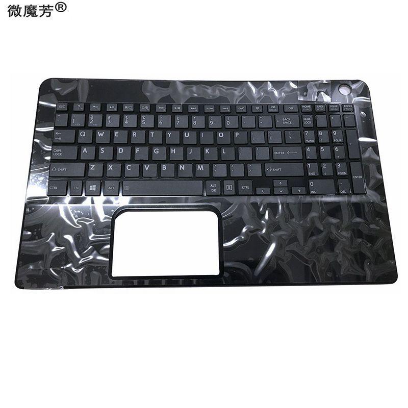 New for Toshiba L50-B,L50D-B,L50-B-13E,l50-B-1f6 laptop Keyboard White UK//EN