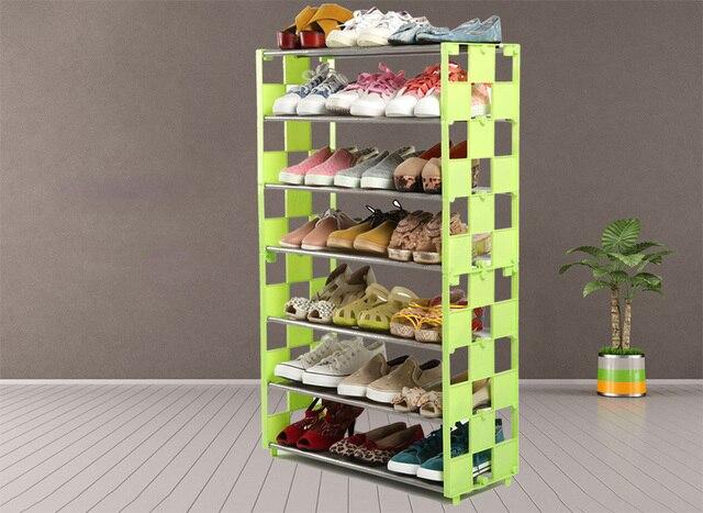 Opbergkast Voor Schoenen.Moderne Mozaiek Combinatie Schoen Hanger Korte Schoen Plank