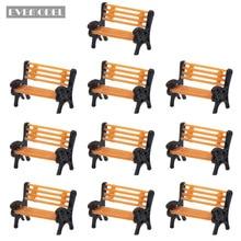 Модель поезда N Scale Z 1:150 миниатюрный парк скамейка стул Sette модель железной дороги макет 10 шт/20 шт YZ150