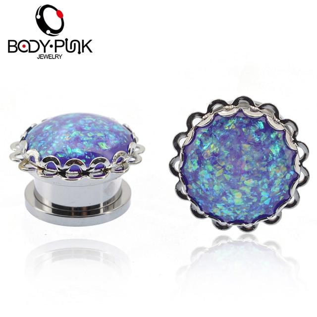 Body Punk New Arrivel High Quality Deep Purple Opal Lace Auricles