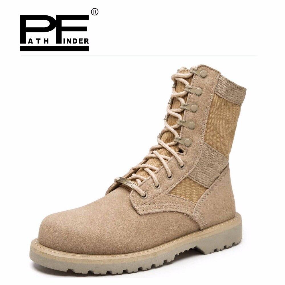 Pathfound 2018 femmes en cuir véritable hiver neige nouvel outillage militaire désert travail bottes en plein air chaud dame fourrure femmes chaussures