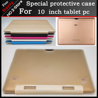 New Arrival Slim 3 Folding Folio PU Leather Stand Cover Case For 10 Inch Tablet Pc