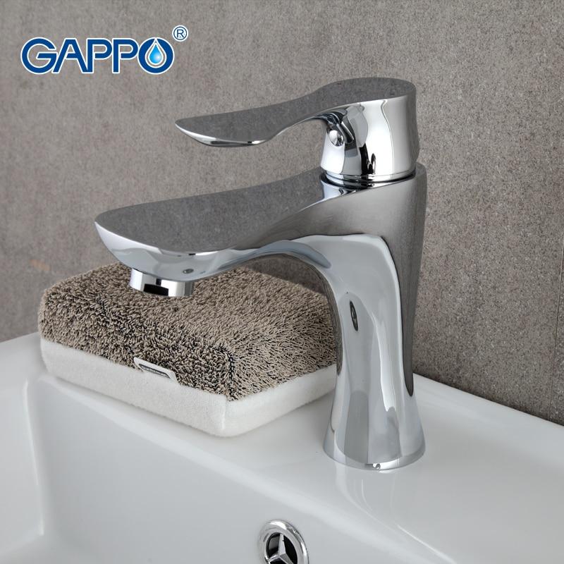 GAPPO water mixer taps Basin sink Faucet bathroom sink tap mixer bathroom faucet Golden brass faucet toilet basin mixer GA1033 superfaucet bathroom faucet tap for bathroom basin faucet water tap washbasin taps for basin of bathroom