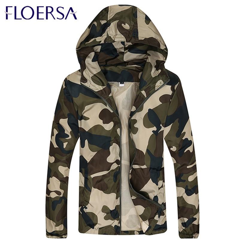Spring Autumn font b Men b font Camouflage Jacket font b Cardigan b font Windbreaker Jacket