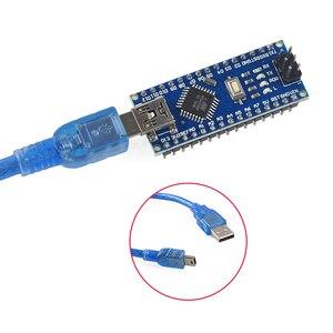Image 2 - 10 stücke NANO 3,0 controlador kompatibel con arduino NANO CH340 turno USB controlador ninguna KABEL V3.0 NANO für Arduino