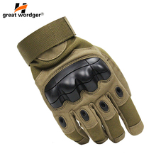 Touch Screen Tactical Gloves Military Army Paintball Shooting Airsoft Combat Anti-Skid Rubber Hiking Full Finger Gloves цены