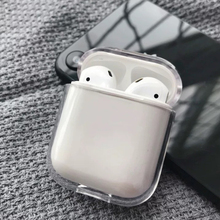 Case For Airpods Transparent hard PC Cases AirPods Protective Cover Bluetooth Wireless Earphone