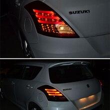2 шт. для SUZUKI Swift светодиодный задний фонарь 2011 2012 2013 задний светильник задний фонарь с парковочным сигналом ходовой задний фонарь
