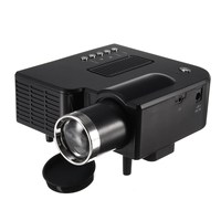 Home Theatre LED System Clear Projector Portable Cinema Theater USB SD AV Input Mini Entertainment Projector