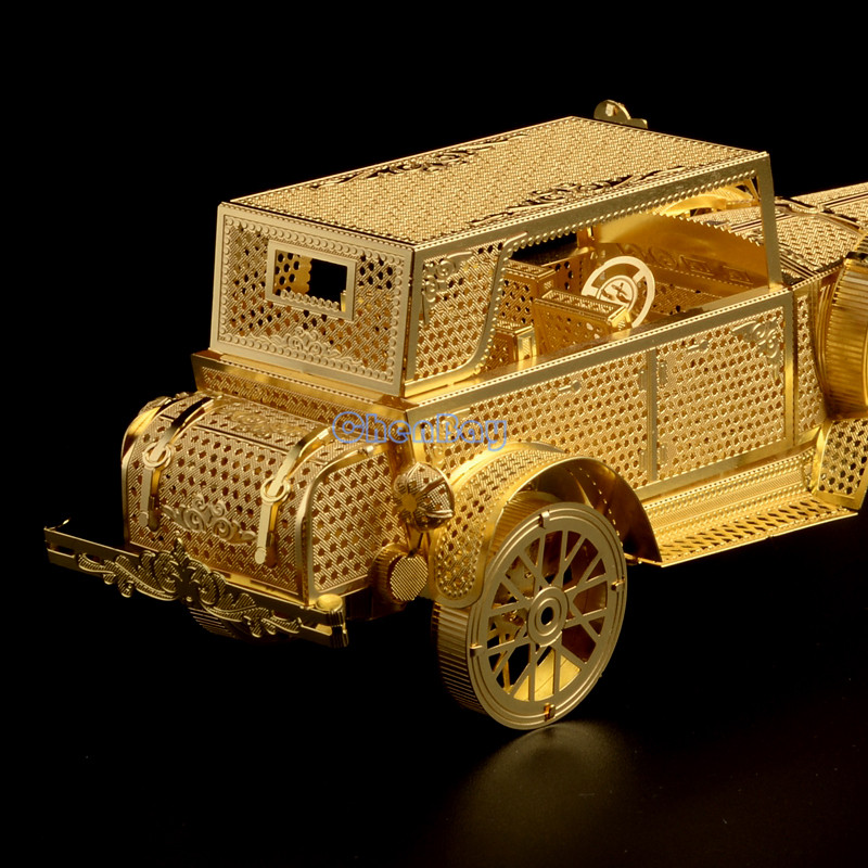 Piececool 3d Metal Puzzle Of Ford Tin Lizzy 3d Nano Laser Cut