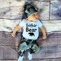3pcs /set Spring / Autumn Infant Baby Boy Girls Cotton Clothing Sets  Cap & long sleeve Jumpsuit Romper &pants