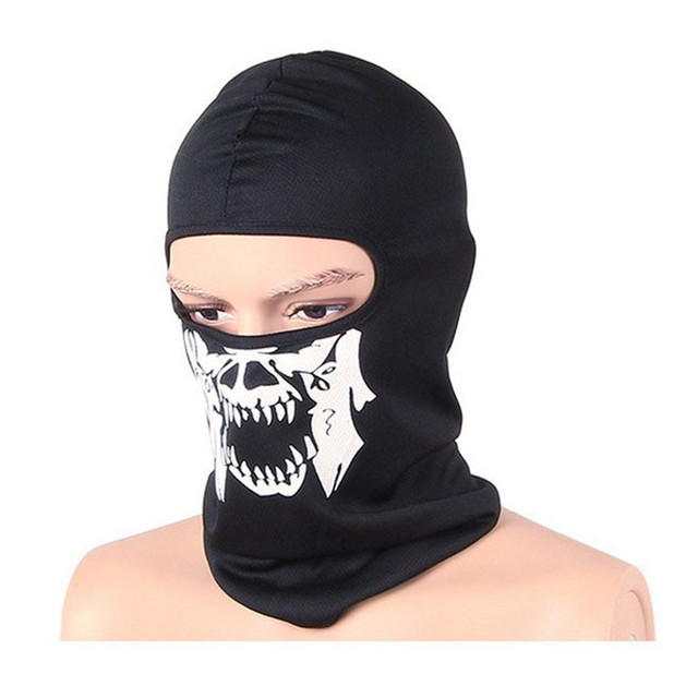 2PCS SKULL MOTORCYCLE FULL MASK (4 VARIAN)