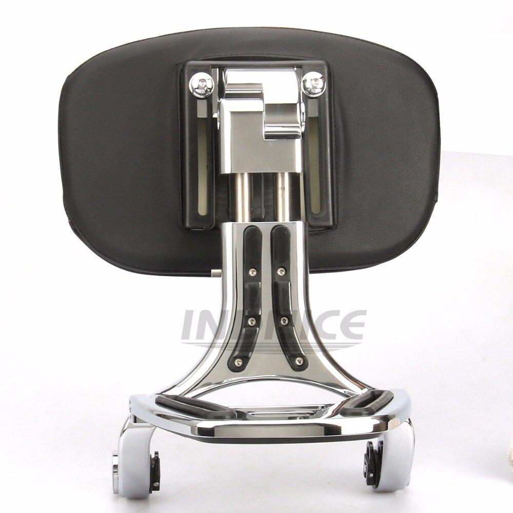 Adjustable Driver Backrest for harley FLSTC/I Heritage Classic 03-17 ,2006 FLST/I Heritage, FLSTN Deluxe 07-17 ,FLSTSC 05-07 Bac