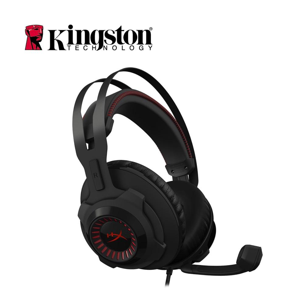 Kingston HyperX Cloud Revolver Professional Esport Gaming Headset Headphone Earphone for PC Xbox One PS4 Mac HX-HSCR-BK/AS микшер astro gaming mixamp pro tr kit white xbox one pc mac