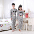Hotsale Girls pajamas Baby Boys spring&autumn long-sleeved thin kids Clothes Lovely cartoon Children's Sleepwear Home wear