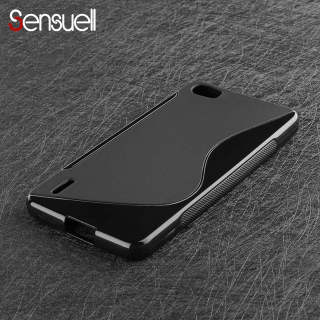 finest selection 8d4af 9a853 US $0.86 25% OFF|SENSUELL Case For Huawei Honor 6 Case 6X 4 4C 5C Note 5X  6C V9 Mate 9 8 Pro Nova Plus Lite Cover Tempered Glass Protective Film-in  ...