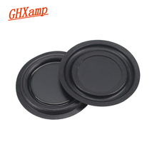 GHXAMP 2PC 2.5 INCH Rubber Bass Vibration Plate Diaphragm BASS Passive Radiator Speaker For Woofer Bluetooth Speaker DIY  67MM