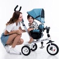 2019 새로운 영국 babyjoey 어린이 3 륜 자전거 접는 아기 Buggy1-5 세 아기 손 푸시 유모차