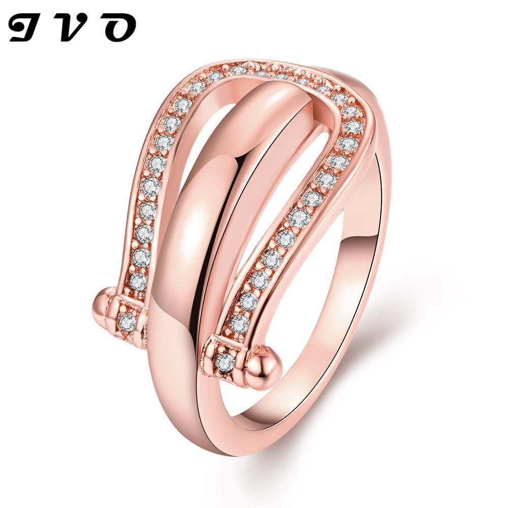 Aliexpress.com : Buy Hot sell shiny zircon stone Gold color women ...