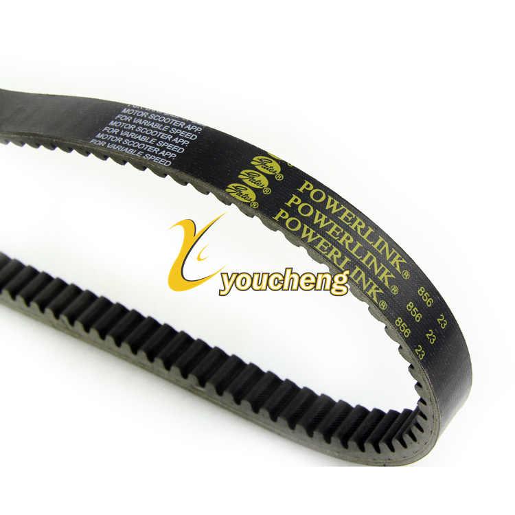 Correa de transmisi/ón para Yamaha Majesty 250 300 BEESCLOVER Gates Powerlink Color Negro