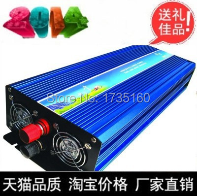 цена на Hot selling! 1500W Power Inverter Pure Sine Wave 48V DC to 220V AC Converter Car inverters AC Adapter Power Supply