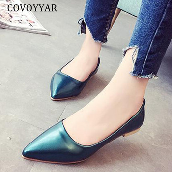 Nueva búho Casual Flats zapatos mujer piel mulas zapatos
