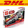 Factory sales 2017 Lepin 05042 New Star War Series The Republic Fighting Cruiser Set Building Blocks Bricks Toys Clone 8039