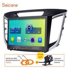 Seicane 10.1 inch Android 6.0 Car Radio GPS Navigation for 2014 2015 Hyundai IX25 Bluetooth 3G WIFI Mirror Link Rearview camera